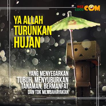 DP BBM Doa Minta Turun Hujan