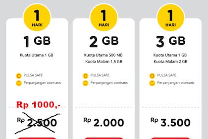 Trik Paket Yellow 1000 Terbaru 2019