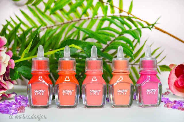 Peripera Sugar Glow Tint Collection Review