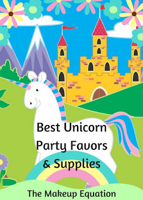 Unicorn Party Favors and Supplies For Girls Birthday Party