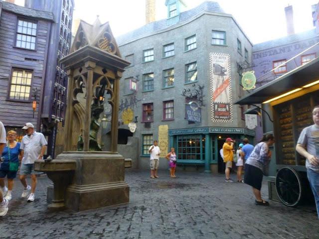 Diagon Alley Universal Studios