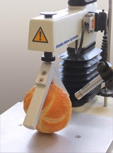 Bread roll crust testing using the Bread 'V' Squeeze Rig and the Acoustic Envelope Detector