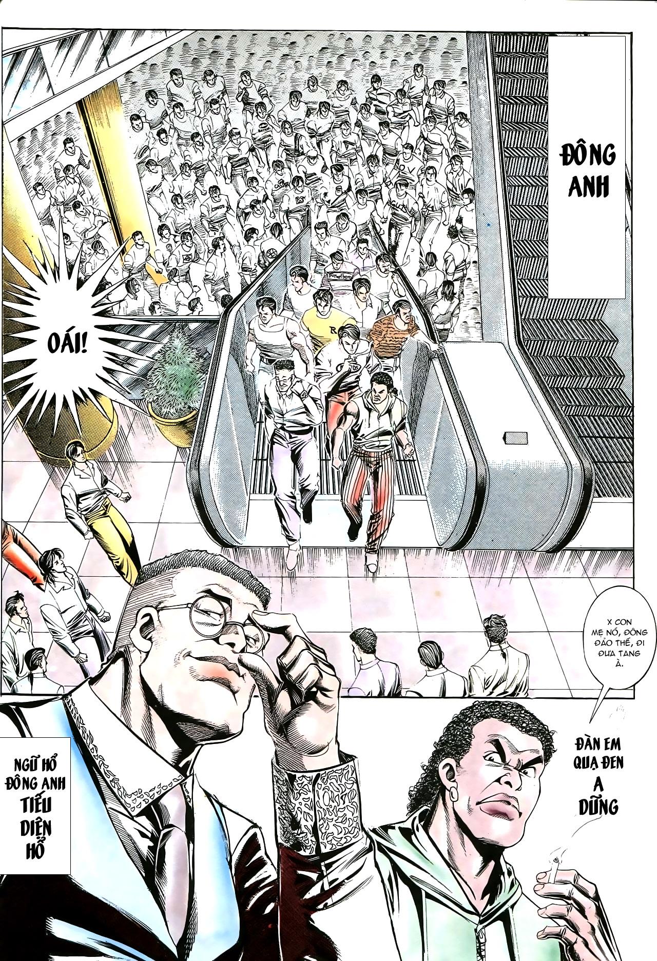 Người Trong Giang Hồ chapter 176: lật thua thành thắng trang 21