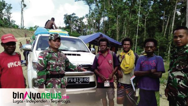 TNI Gagalkan Penyelundupan Kayu Masohi