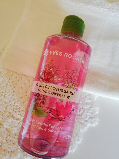 yves rocher bain douche shower gel