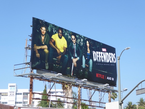 Defenders billboard