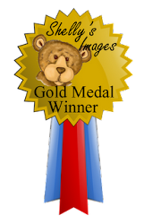 I was the Gold Medal Winner at Shelly's Images