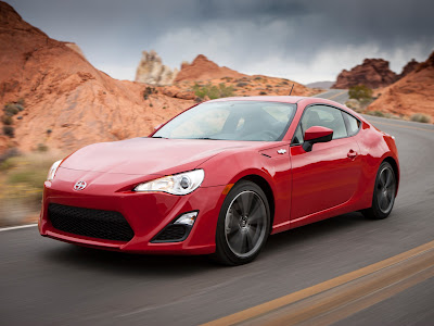 2016 Scion FR-S left side test drive image