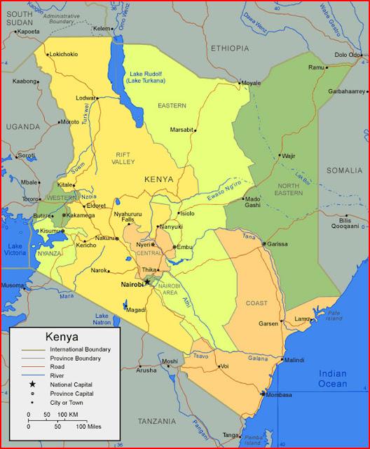 image: Map of Kenya
