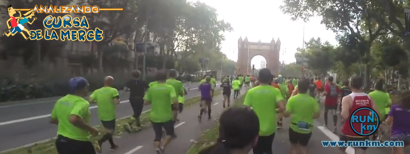 Passeig Sant Joan - Analizando Cursa de la Mercè 2016