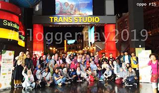 Blogger Day 2019 di Wahana Trans Studio Bandung