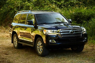 36 2016 Toyota Landcruiser V8 engine SUV purchased and given to Senators