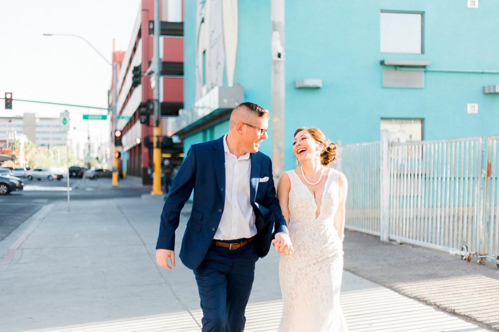 downtown las vegas, downtown las vegas wedding, las vegas elopement