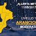 Domani allerta meteo arancione in tutta la Calabria
