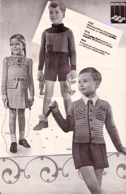 The Vintage Pattern Files: Free 1930's German Knitting Booklet - Die Schachenmayrin 8/39