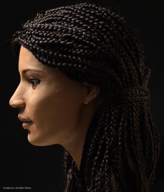 Ancient Egyptian woman Meritamun 'brought to life' 2000 years later