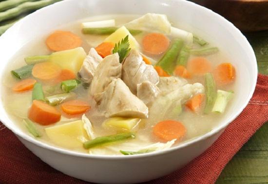cara membuat sop ayam spesial
