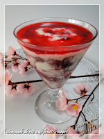 Verrine semoule de riz fruits rouges NAT ALI