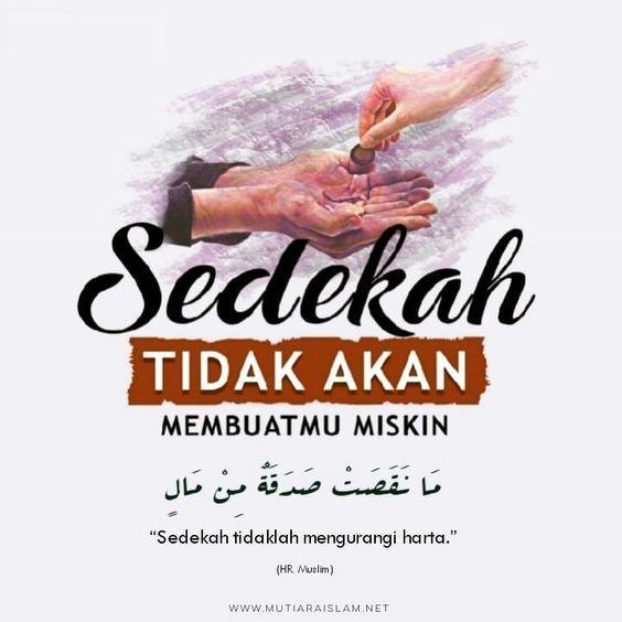 gambar kata kata bijak islami tentang sedekah
