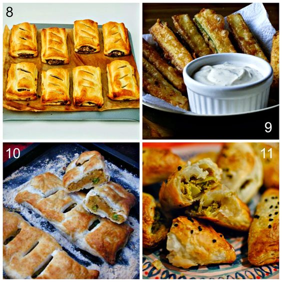 Vegetarian and Vegan Pastry lunch ideas