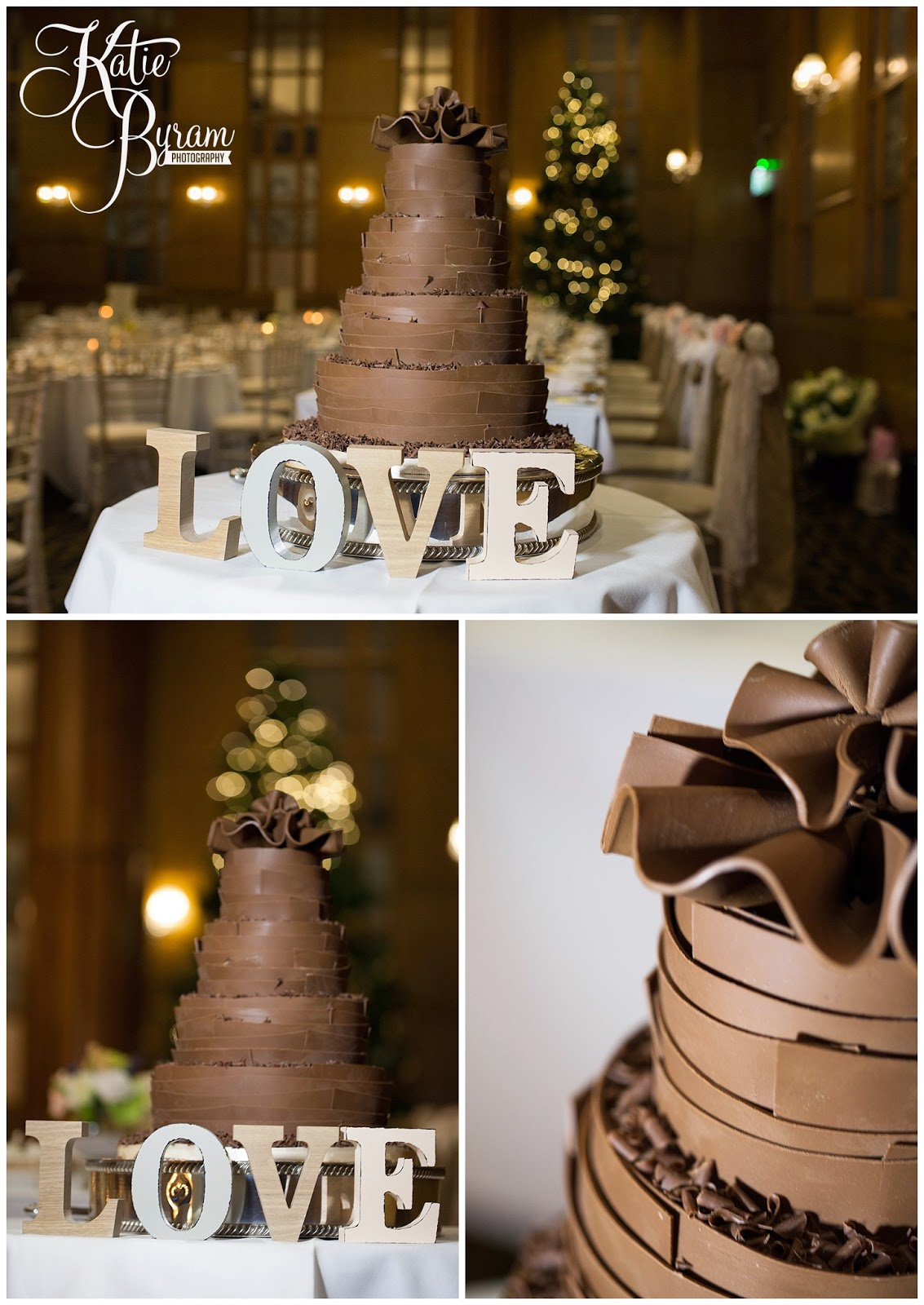 marks and spenders wedding cake, chocolate wedding cake, the vermont hotel, newcastle wedding venue