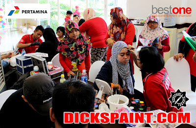 Face Painting Anak Bogor
