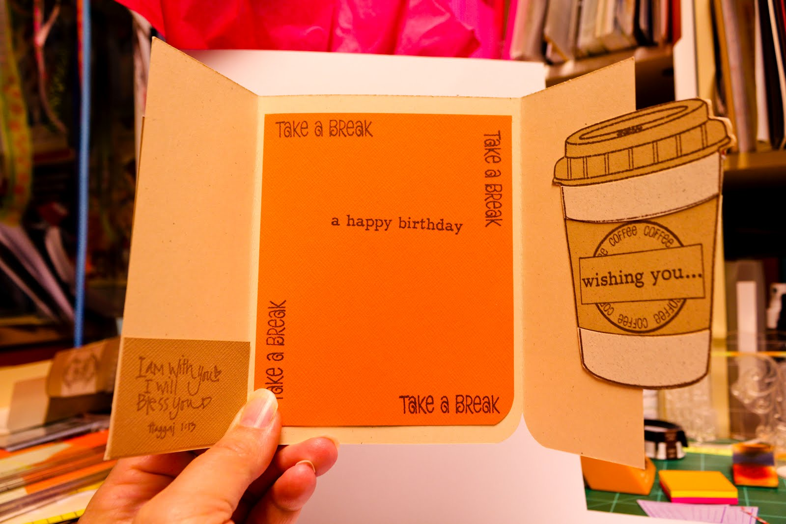 A Birthday Card For Coffee Lovers