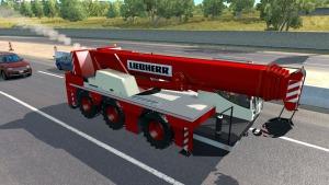 Ai Traffic crane truck mod