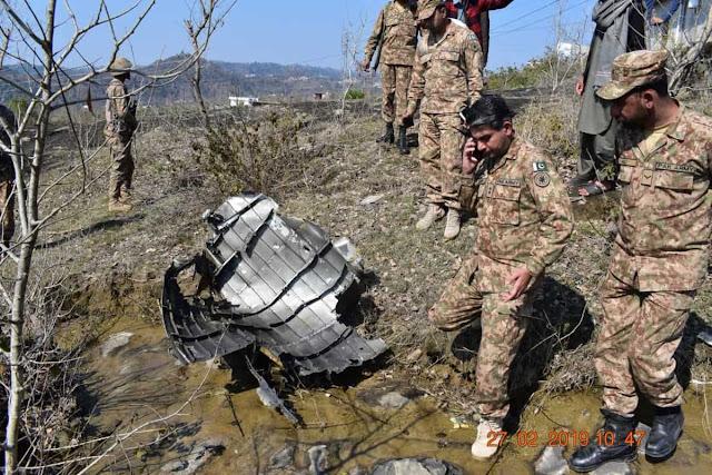 Pakistan công bố những hình ảnh tiêm kích Ấn Độ dược cho là bị nước này bắn hạ