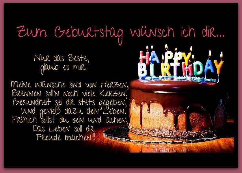 Zum Geburtstag wünsch ich dir