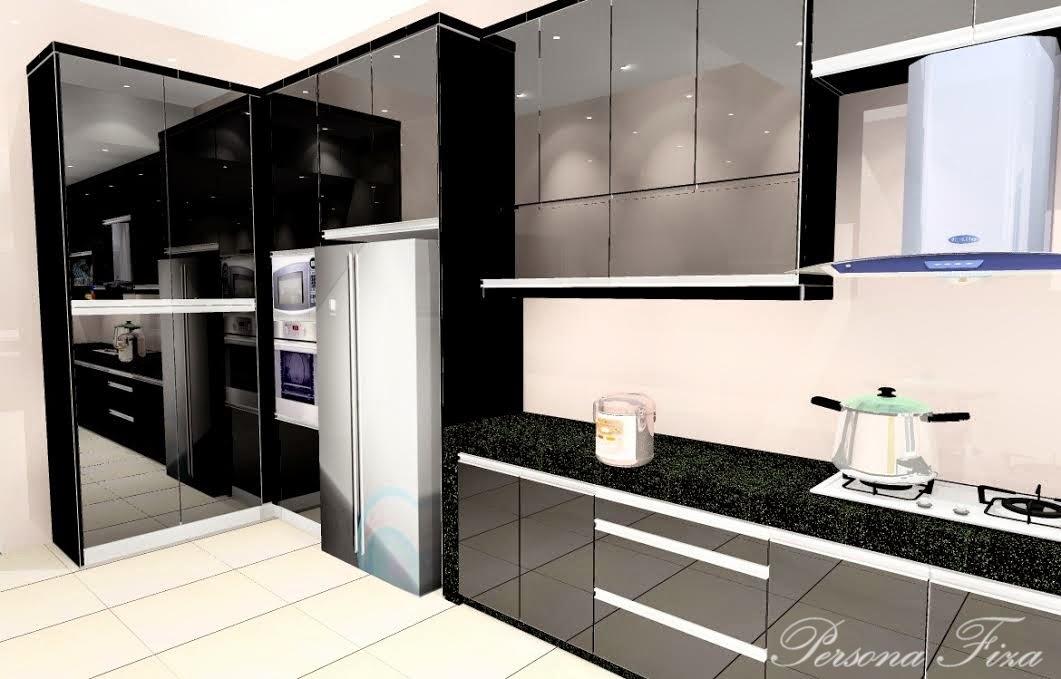 Material Ambil 4g Black Mirror Full Height Klu Ikut Ukuran Rumah Panjang Kat Sinki Tall Cabinet Bertentang Tu 6 Kaki Then Dari