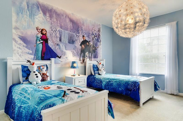 Themed Girls Bedroom Frozen