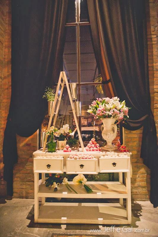 Casamento decoração romântica