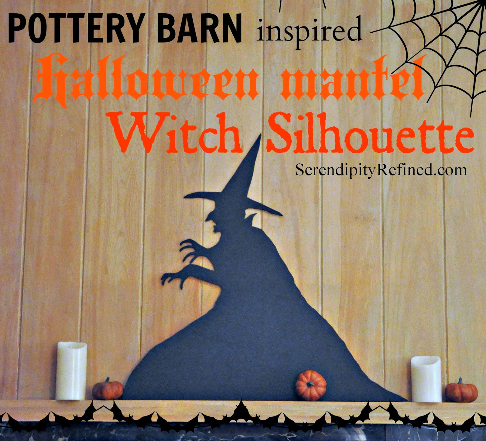 Serendipity Refined Blog: Pottery Barn Inspired Halloween