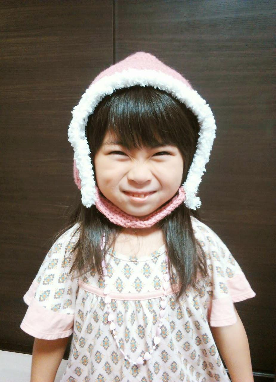赤ちゃん用ピクシーハットの編み方
