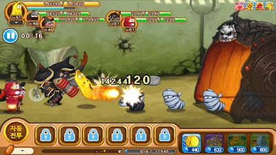 Larva Heroes : Episode2 v1.1.5 Mod Apk + Data (Unlimited Candy,Gold)