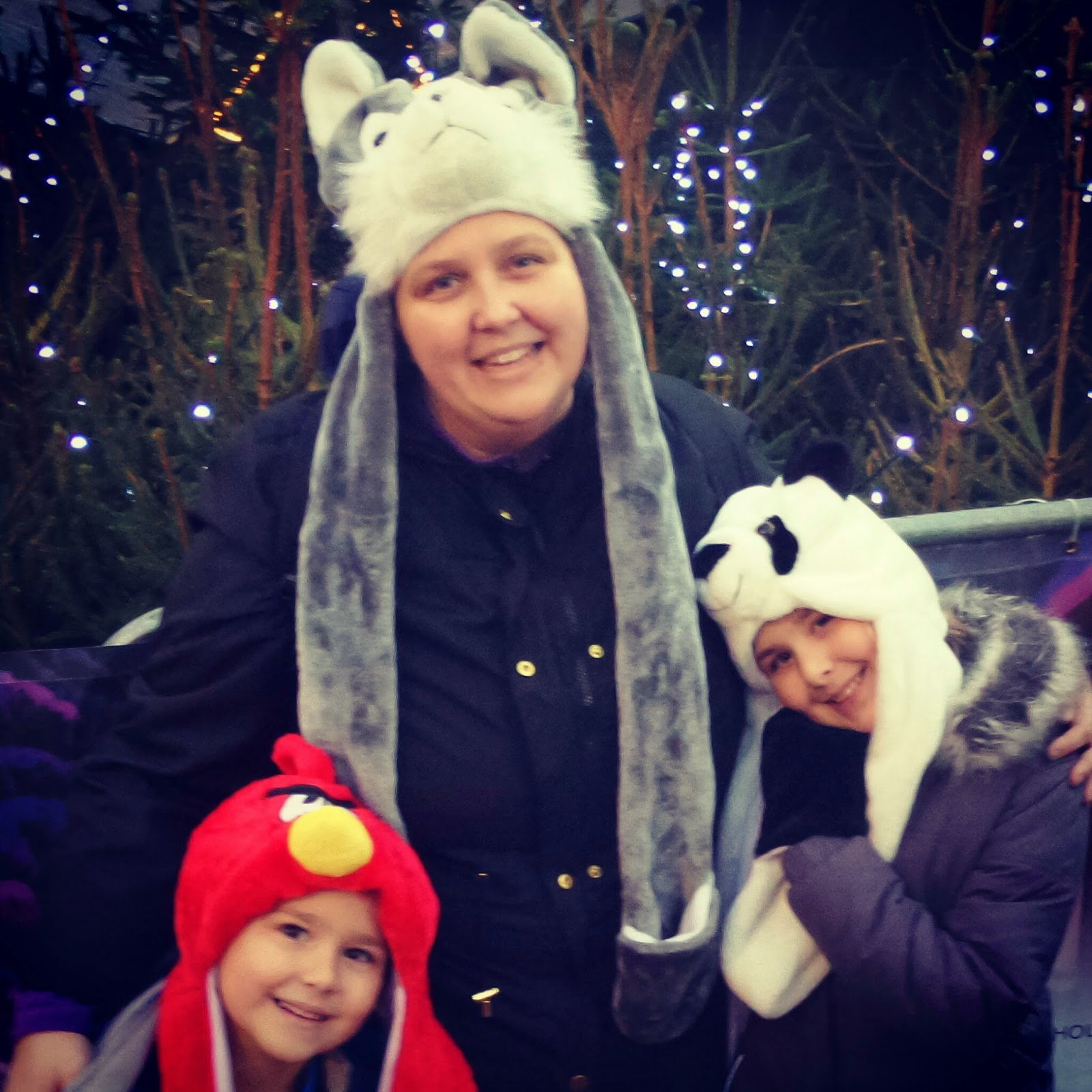 PippaD, Top Ender and Big Boy with new Winter Hats
