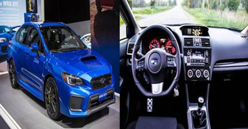2018 Subaru WRX Sport Tech CVT Review