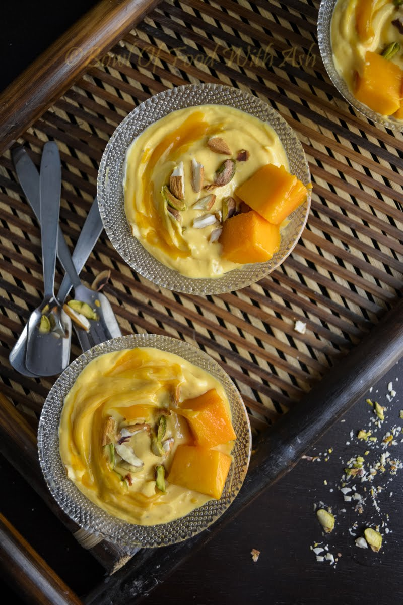 Mango Shrikhand Recipe | How To Make Amrakhand