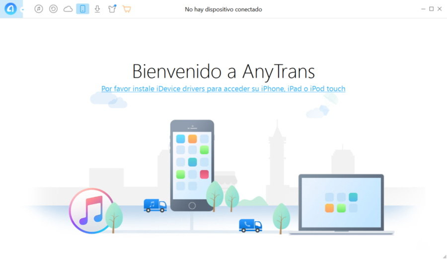 AnyTrans alternativa a iTunes