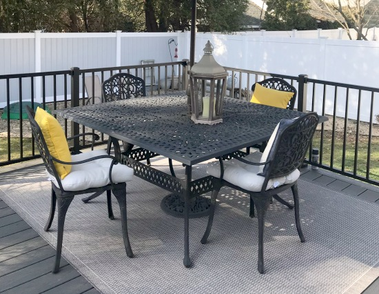 Replacing an Old Deck and adding Patio Furniture