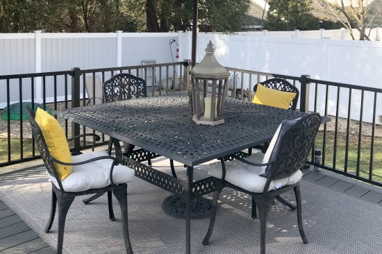 Replacing an Old Deck with Trex Composite Decking