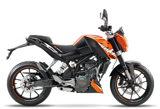 Top 8 Best bike in India under 2 lakh, ktm duke 200