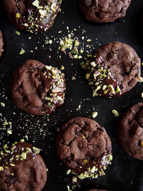 Pistaasi-suklaakeksit