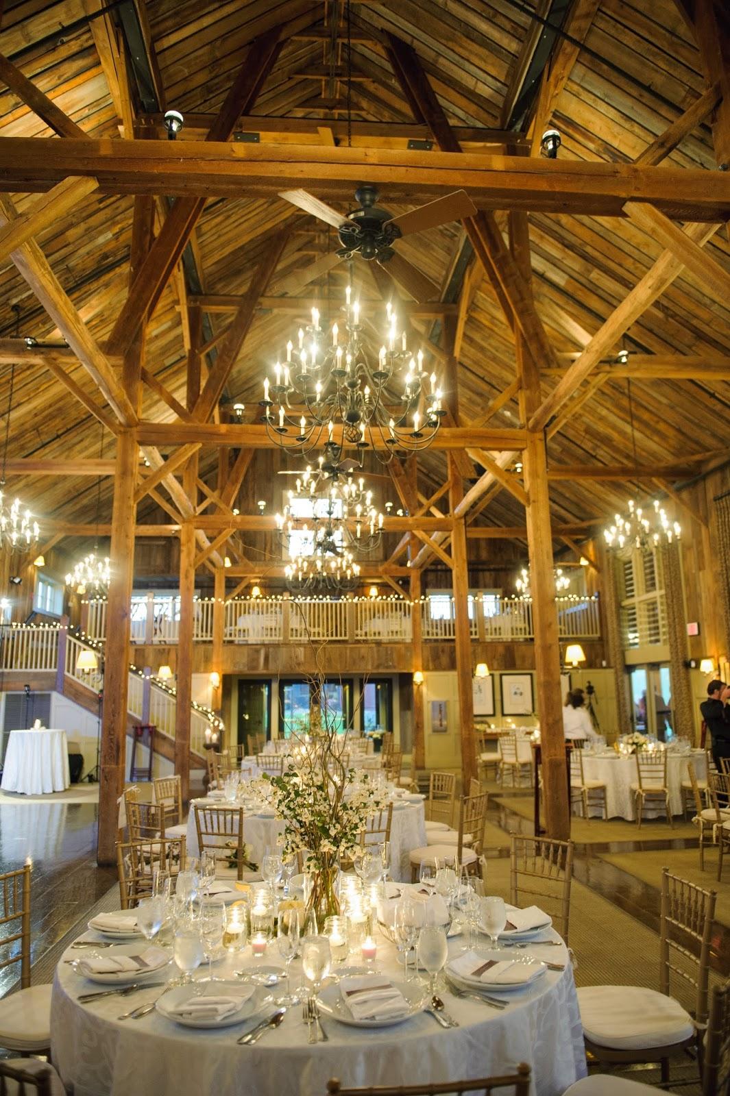 barn at gibbet hill : wedding florist : a neutral fall ...