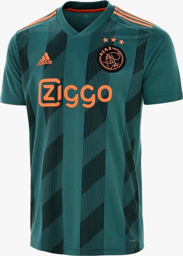 8100a10403 Adidas divulga a nova camisa reserva do Ajax - Show de Camisas