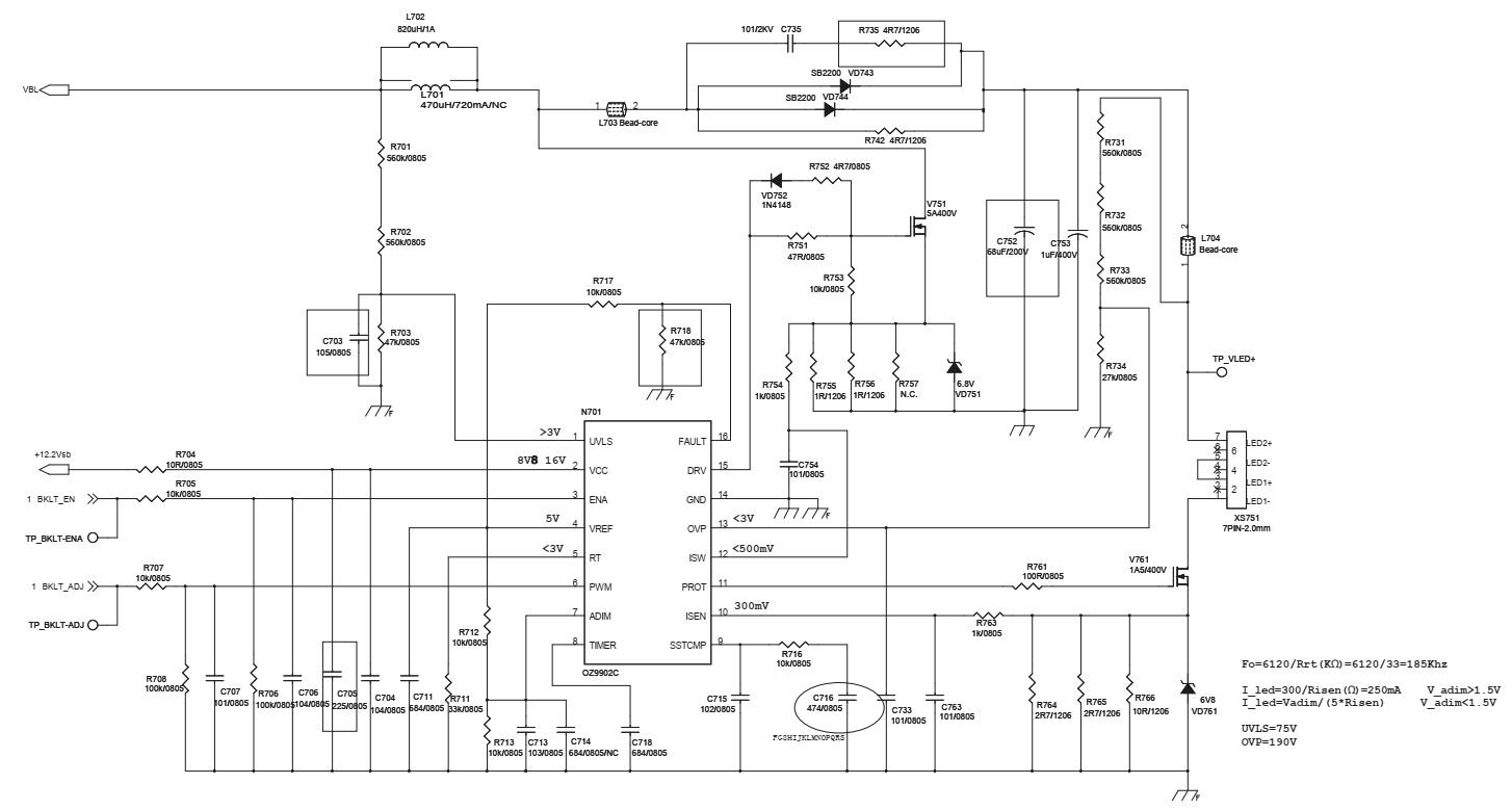 Electrotechnician  Toshiba 40l2500  Toshiba 43l2500  U2013 Smps  Backlight Inverter  Lvds  Hdmi Audio