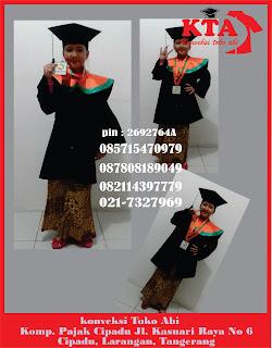Harga Baju Seragam Toga Wisuda 2016