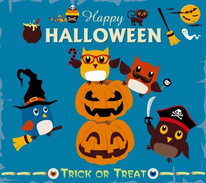 Happy Halloween: Buhos