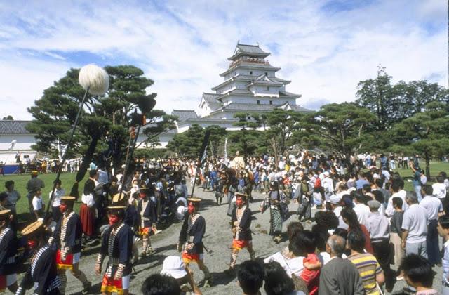 Aizu Matsuri (Dance & Parade), Aizu-Wakamatsu City, Fukushima Pref.